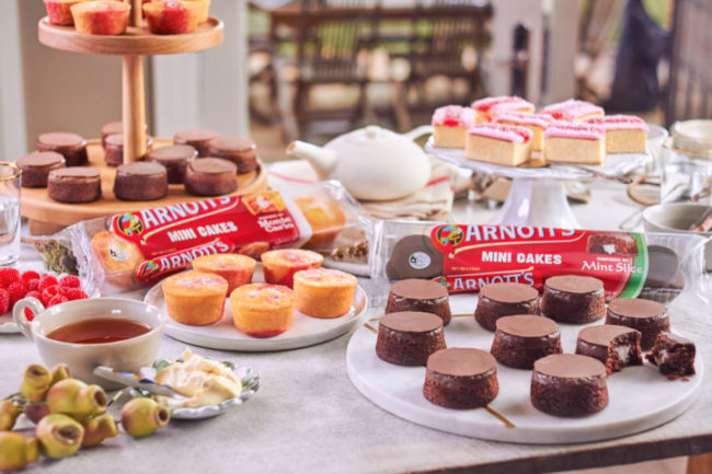Arnott's mini cakes, Campbell Soup Co.