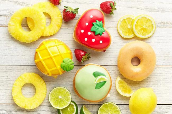 Krispy Kreme Fruit-Inspired Collection