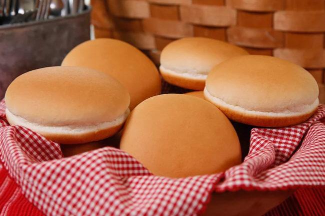 Mid South hamburger buns