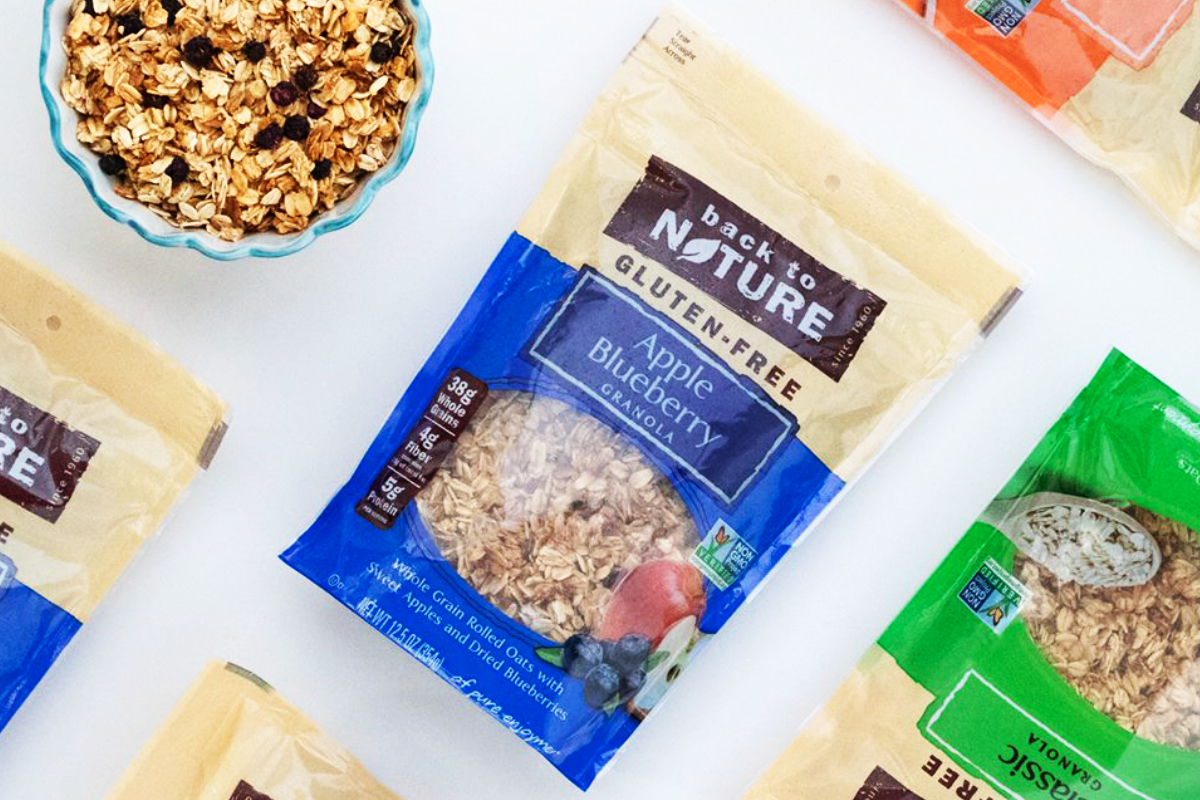 Back to Nature granola, B&G Foods