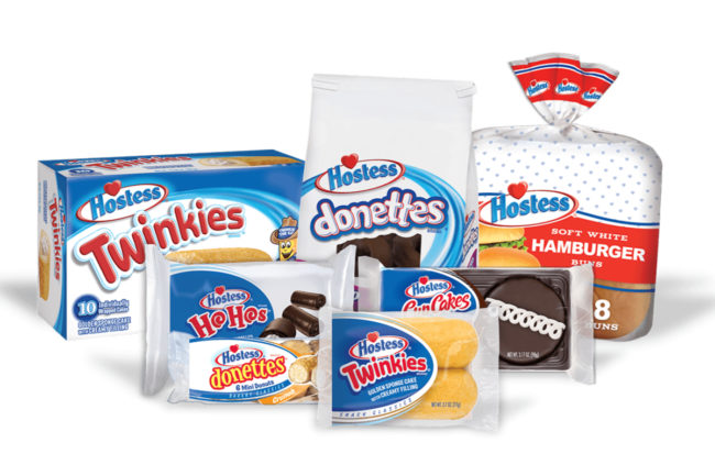 Hostess products lineup