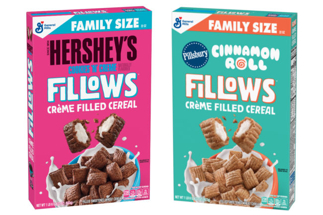 General Mills Fillows cereal