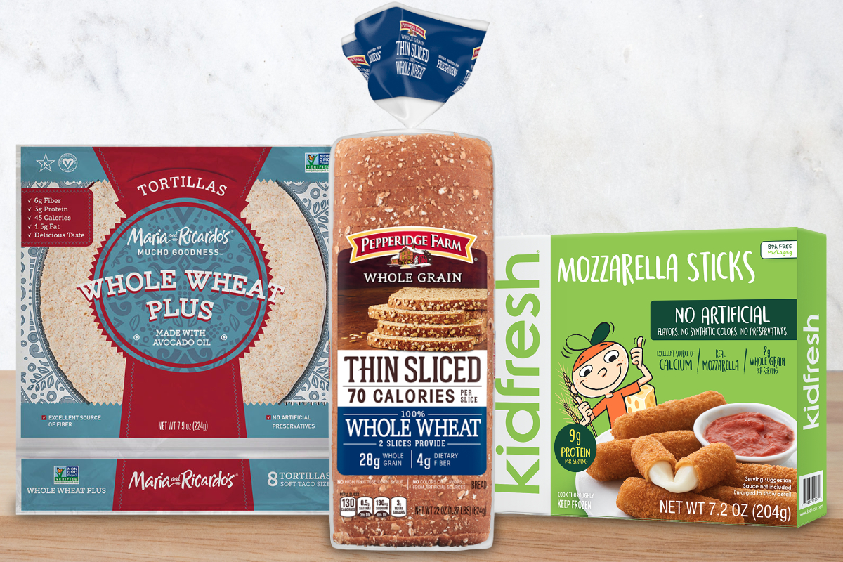 New products featuring whole grains
