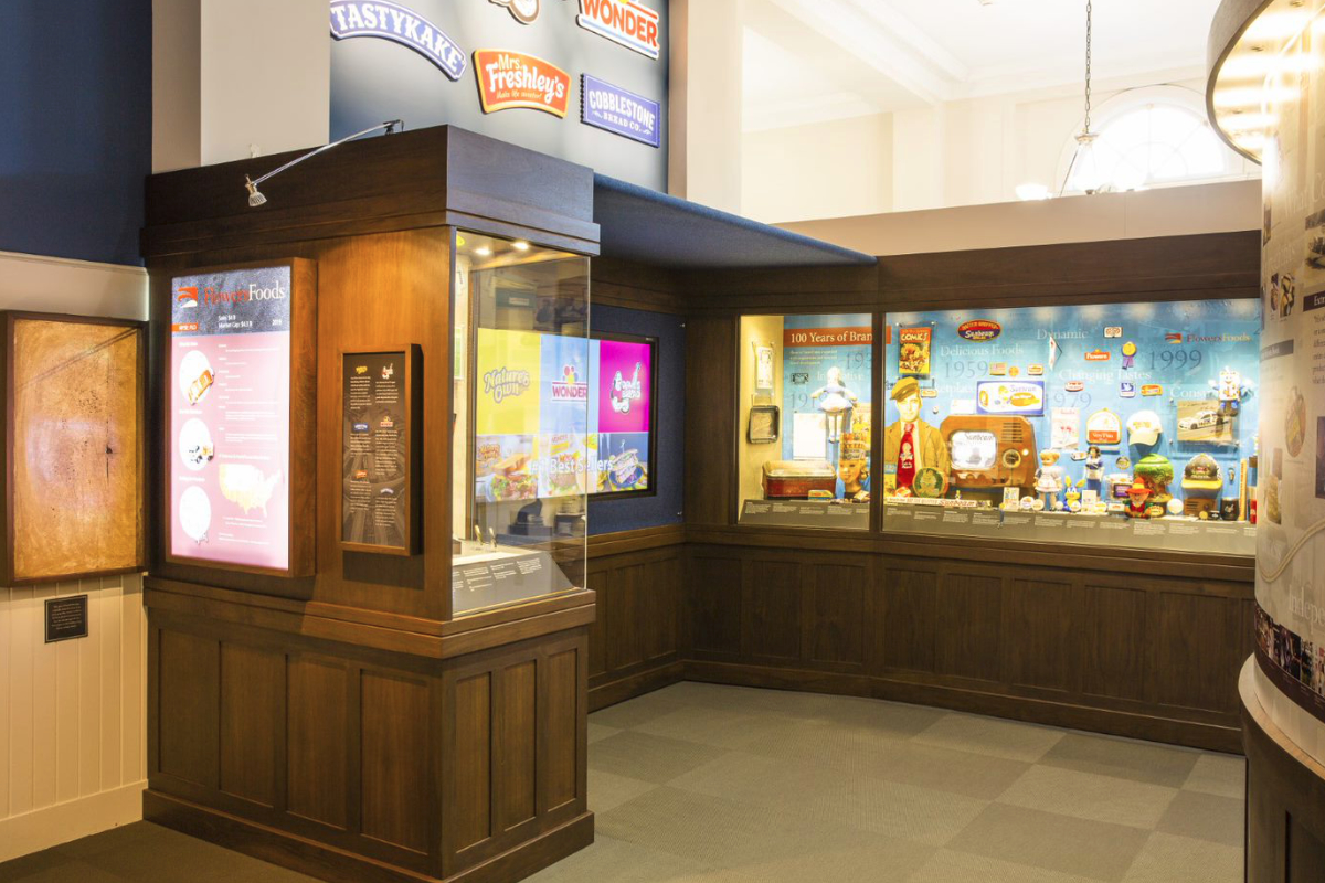 Flowers Foods History in the Baking exhibit