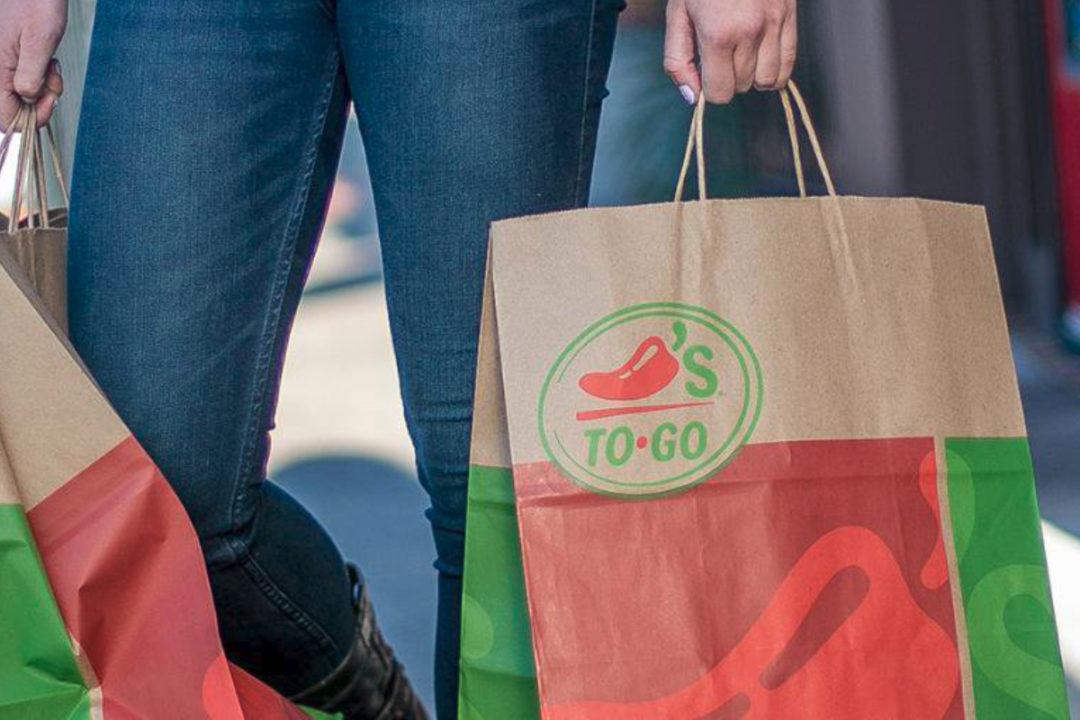 Chili's to-go bags