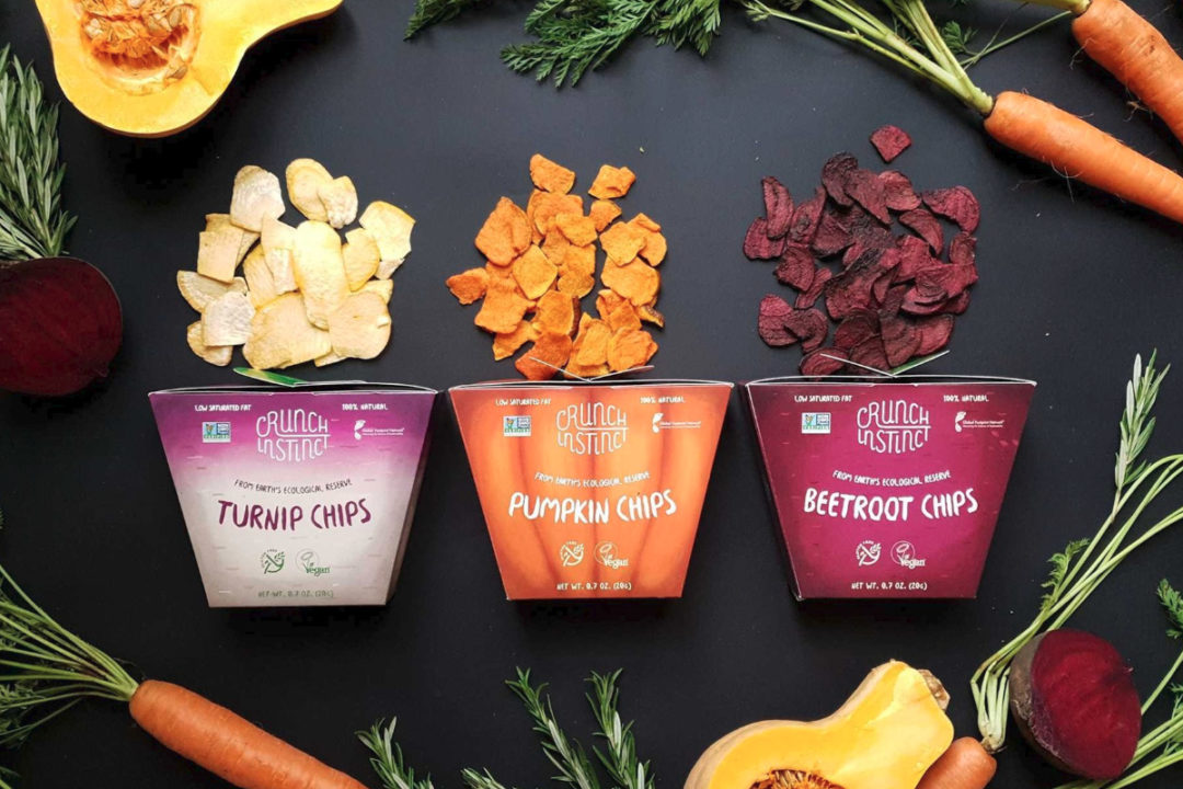 Crunch Instinct organic vegetable chips