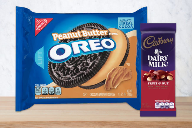 Mondelez Oreo and Cadbury brands