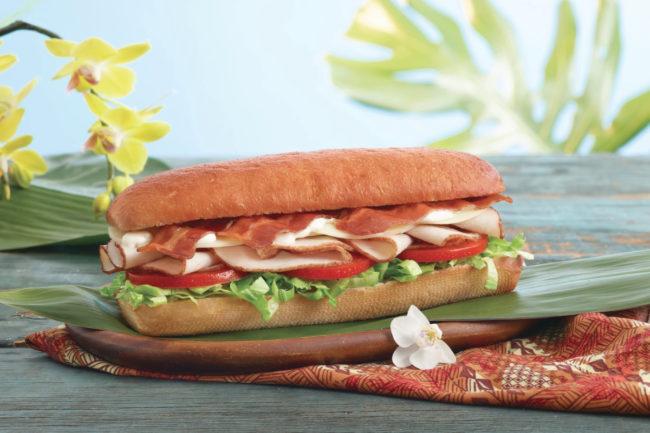 Subway King's Hawaiian bread