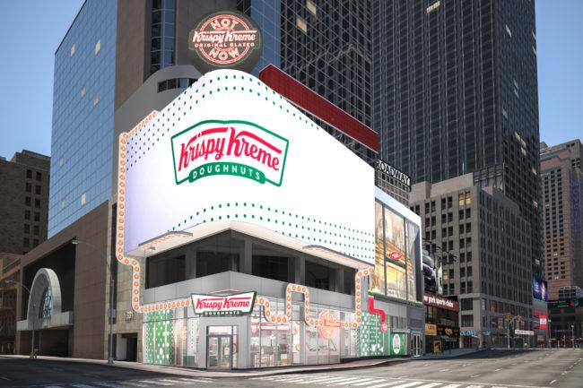 Krispy Kreme NYC flagship store
