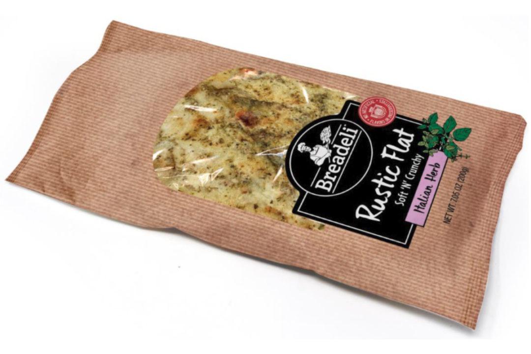 Breadeli Italian herb rustic flatbread