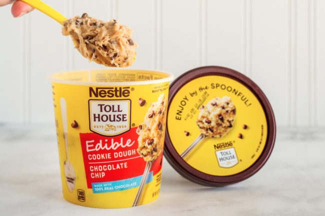 Nestle Tollhouse edible cookie dough