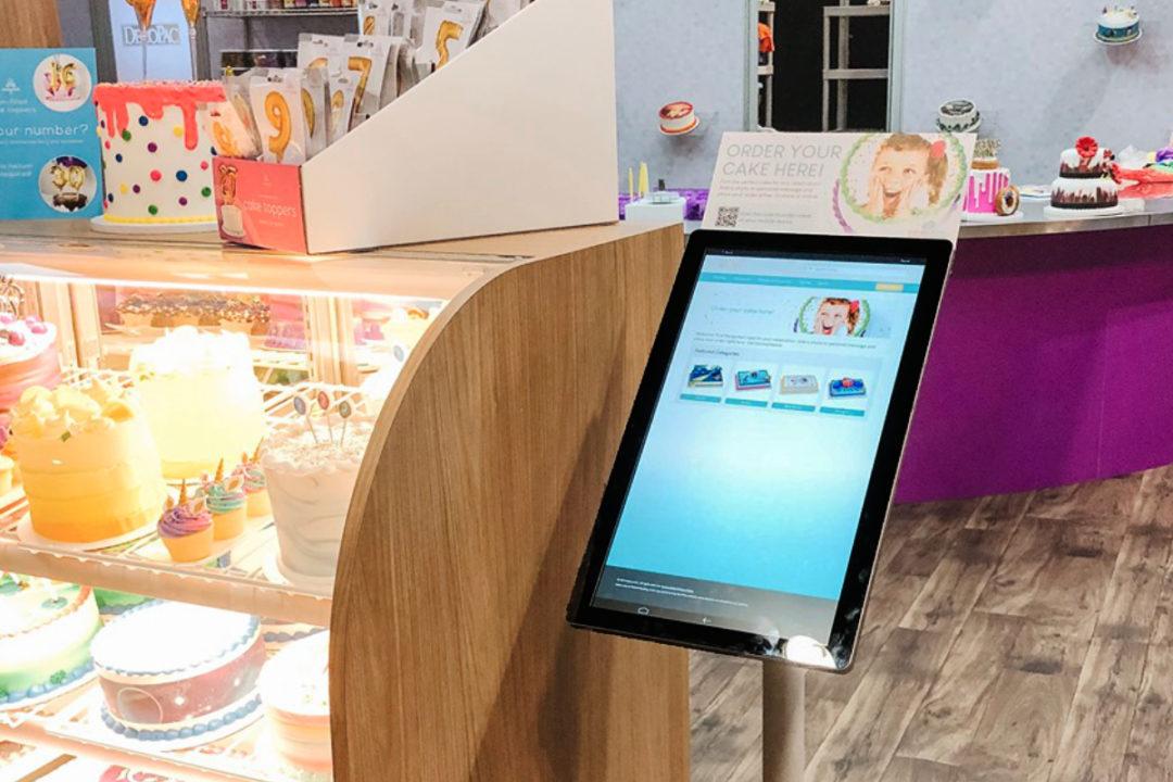 DecoPac cake ordering kiosk