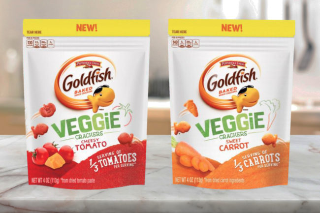 Pepperidge Farm Goldfish Veggie Crackers, Campbell Soup Co