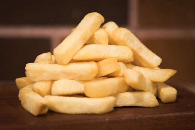 Harvest choice french fries