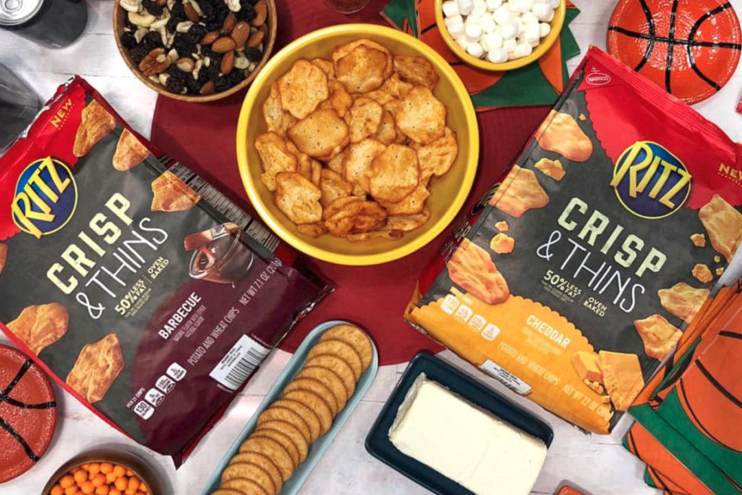 Ritz Crisp & Thins snacks, Mondelez