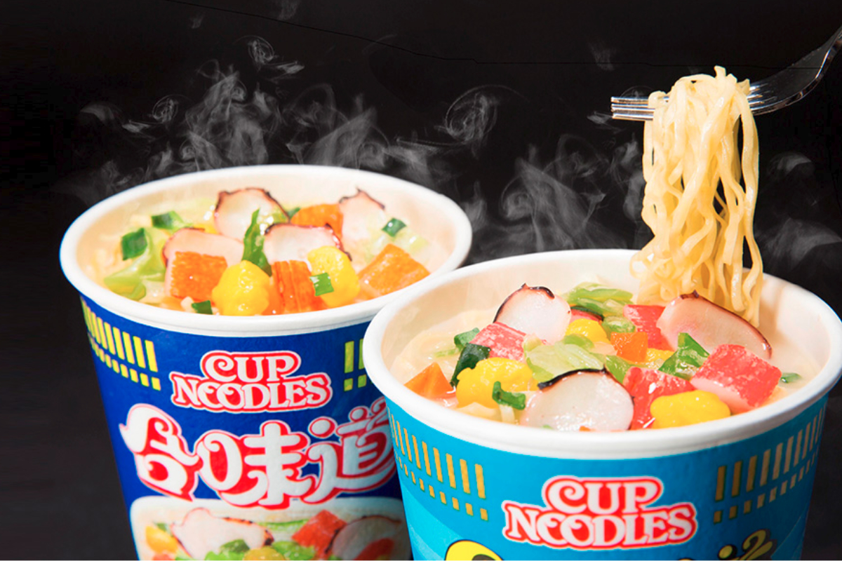 Nissin Foods Co. Ltd. Cup Noodles in China