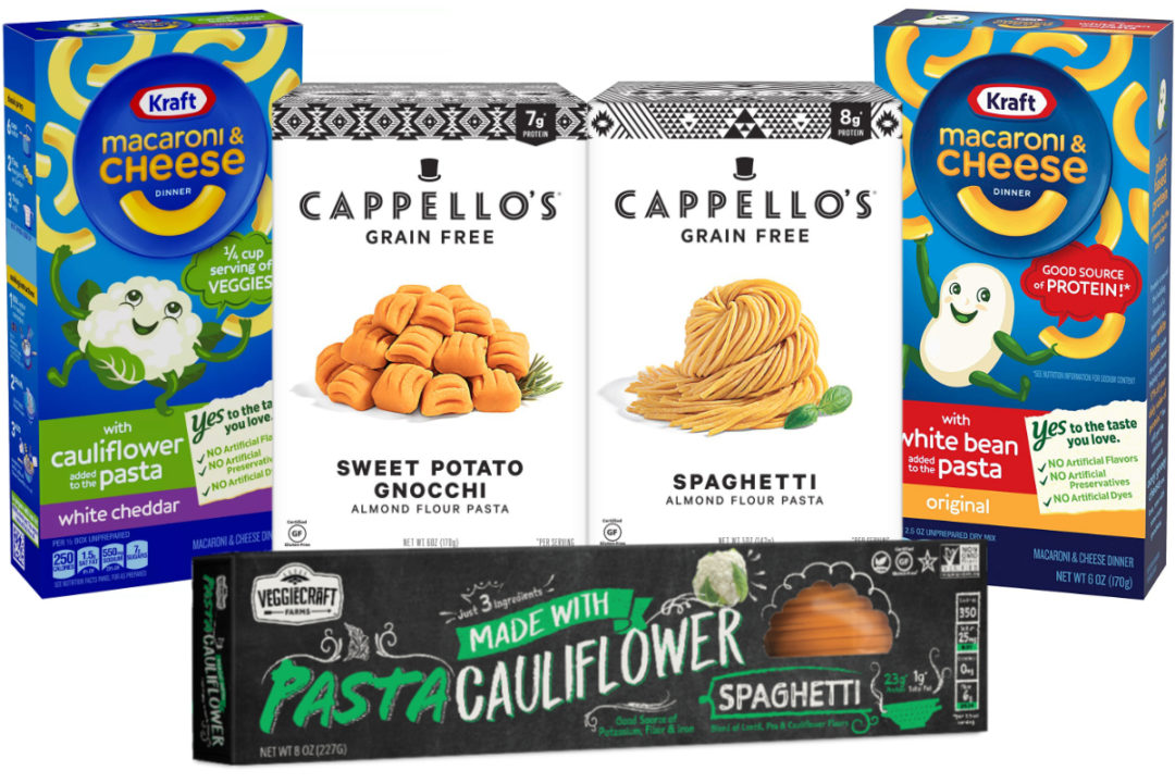 New pasta products