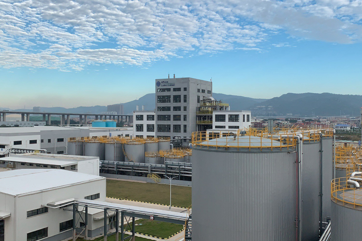 Bunge Loders Croklaan edible oils plant in Xiamen, China