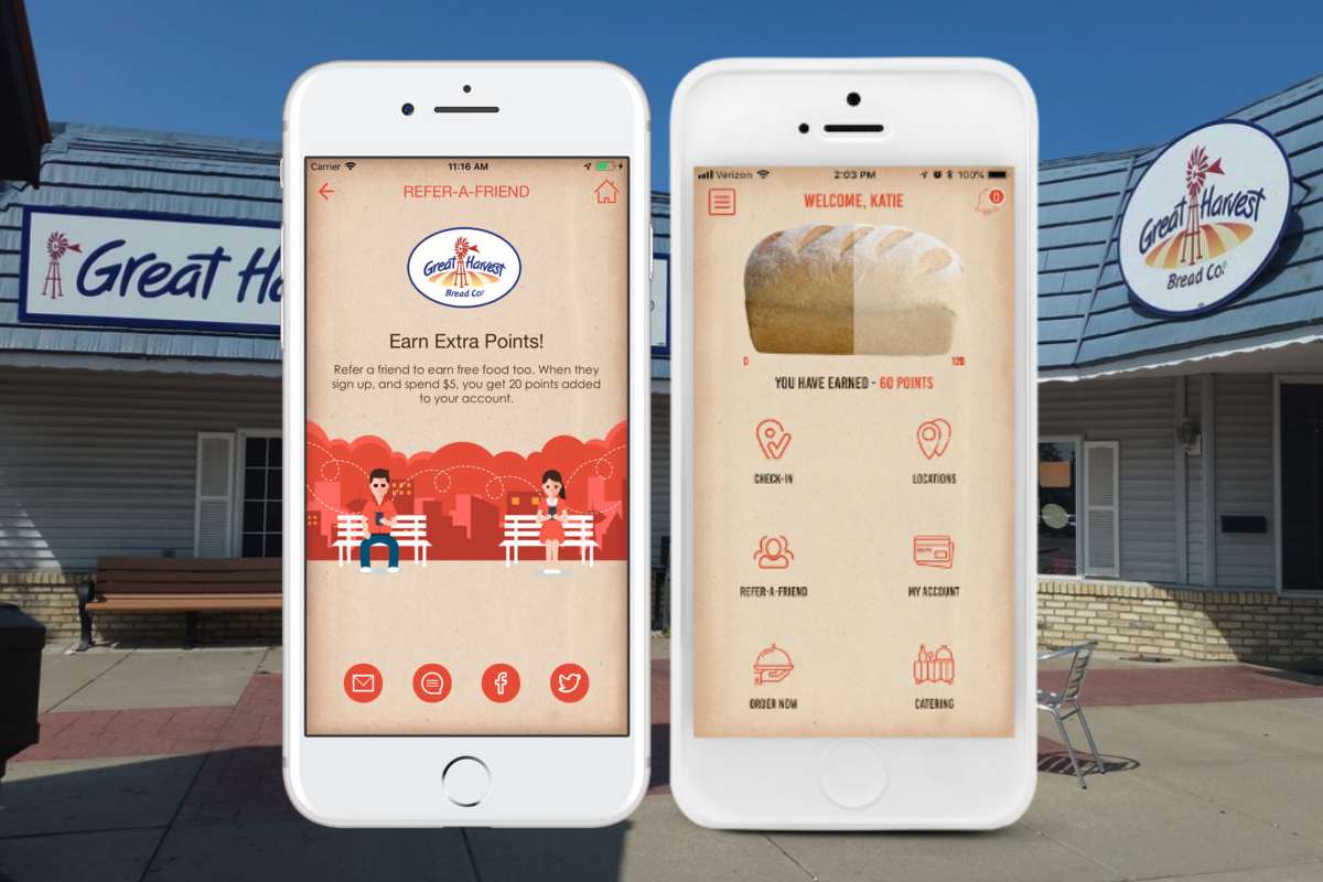 Great Harvest Bread Co. app