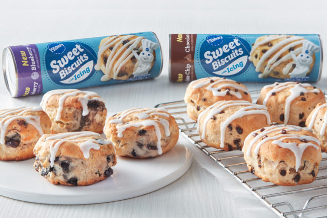 New Pillsbury Sweet Biscuits, General Mills