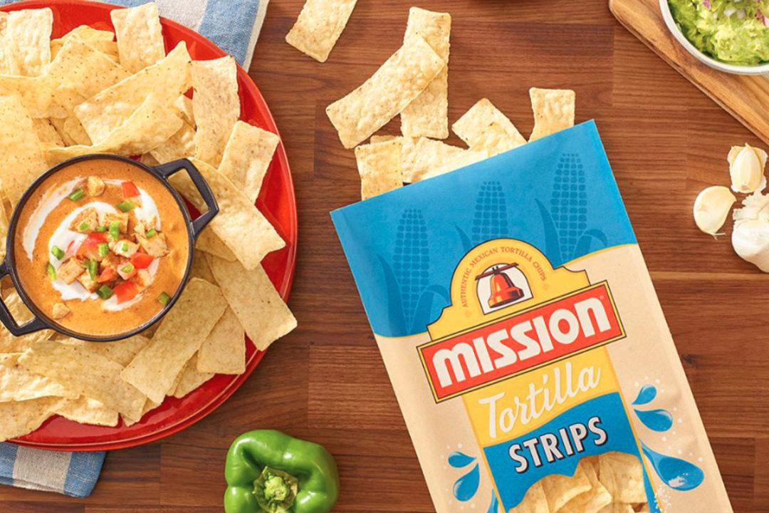 Mission tortilla strips, Gruma
