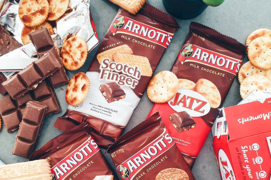 Arnott's biscuits, Campbell Soup Co.