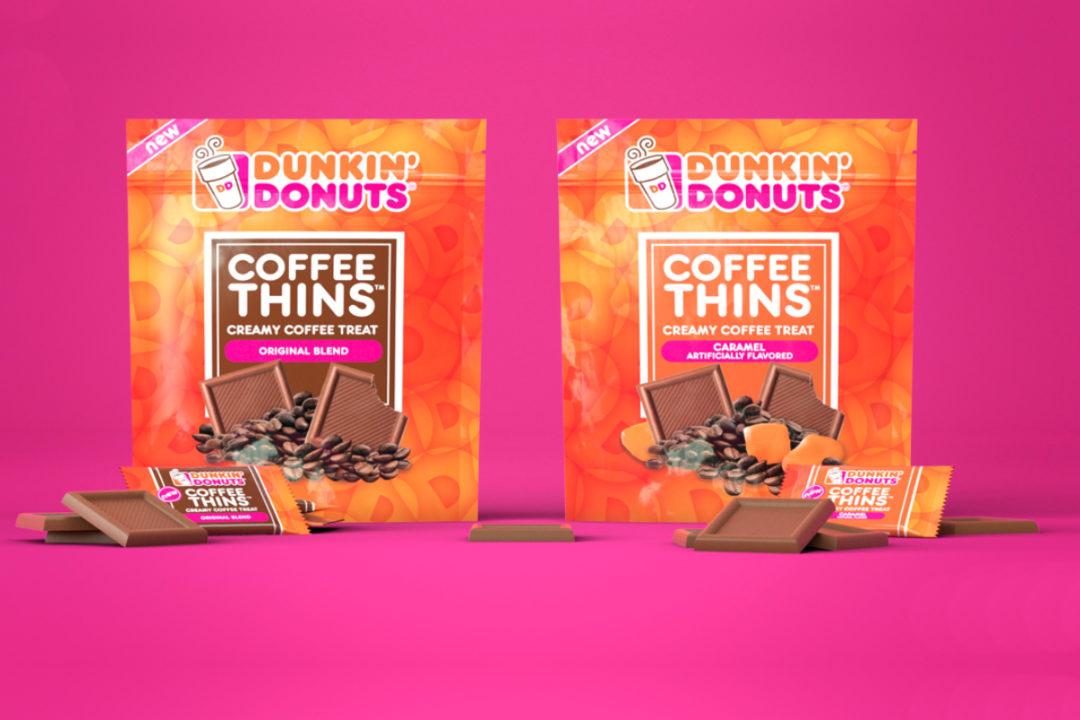 Dunkin Coffee Thins