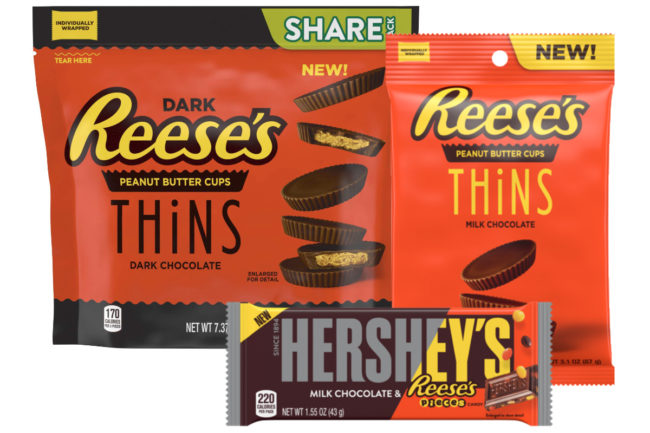 New Hershey's and Reese's products
