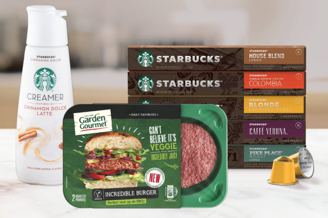 Nestle innovation - Starbucks products, Incredible Burger
