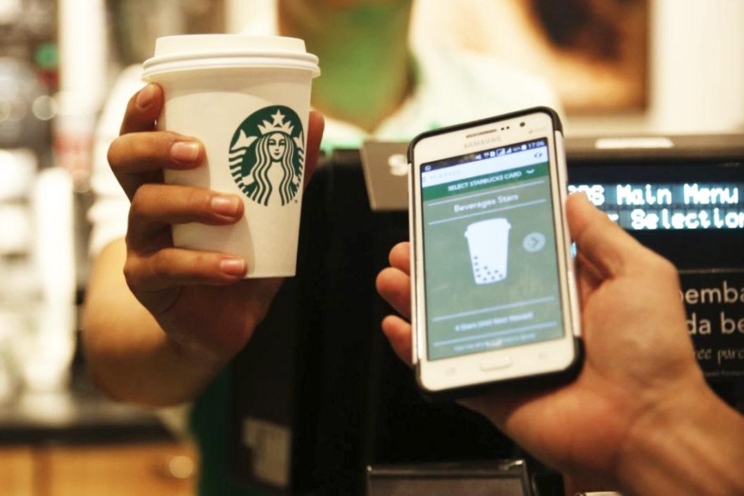 Starbucks mobile platform