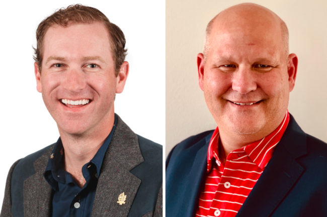 Bradley Cain and Tom McCurry, Cain Food Industries