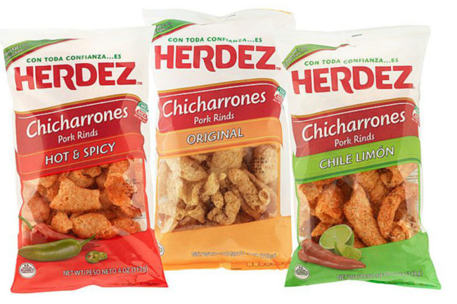 Herdez pork rinds