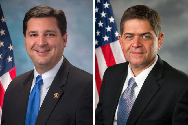 Congressmen David Rouzer and Filemon Vela