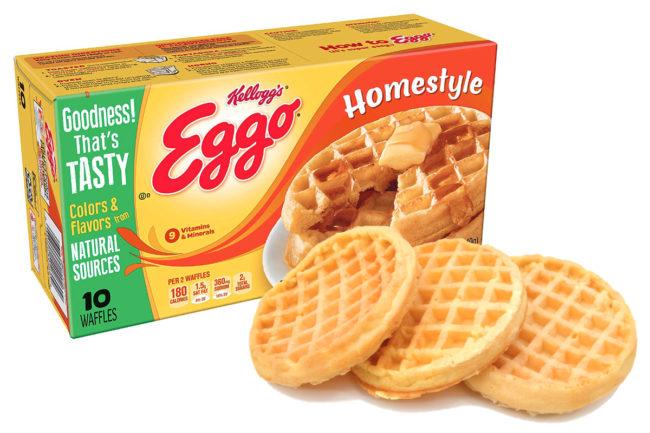 Eggo frozen waffles, Kellogg