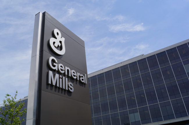 General Mills headquarters sign