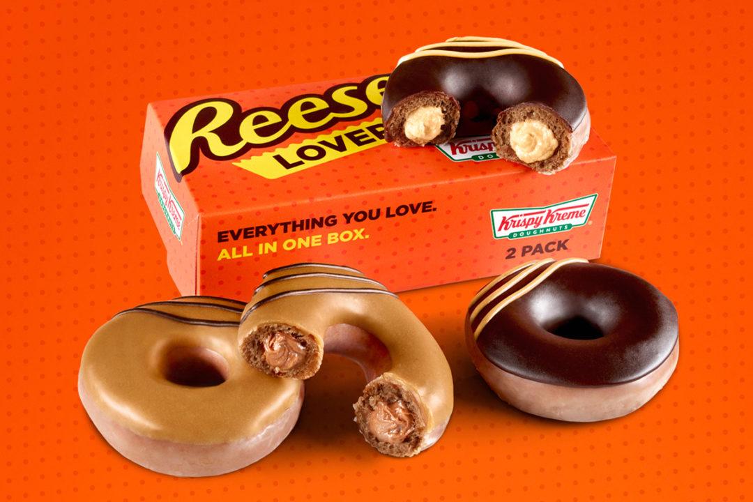 Krispy Kreme Reese's donut