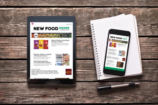 New Food Insider newsletter