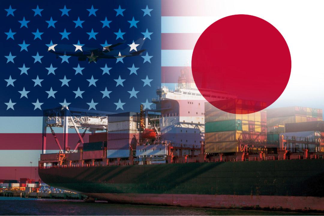 USA and Japan trade