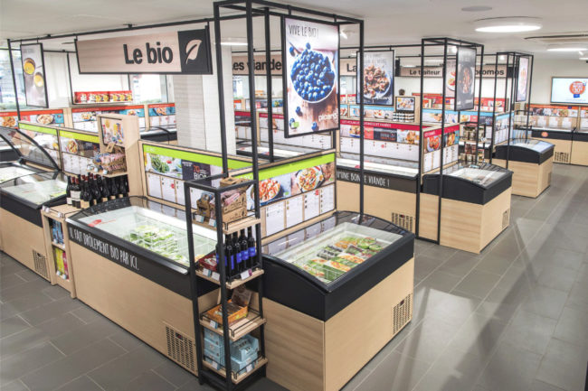 Picard frozen food store in France