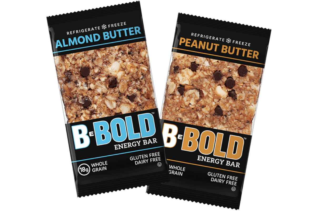 BeBOLD refrigerated energy bars