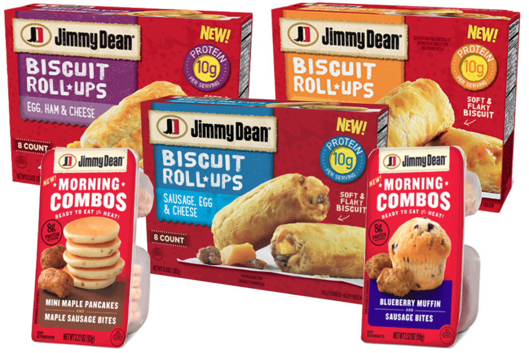 Jimmy Dean Biscuit Roll-Ups and Morning Combos