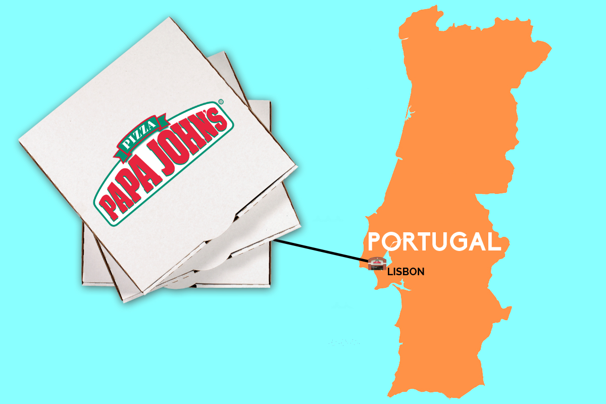 Papa Johns in Portugal