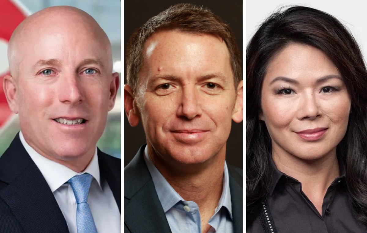 Ritch Allison, Andrew Campion and Isabel Ge Mahe, Starbucks board