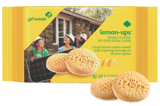 Girl Scouts Lemon-Ups cookies