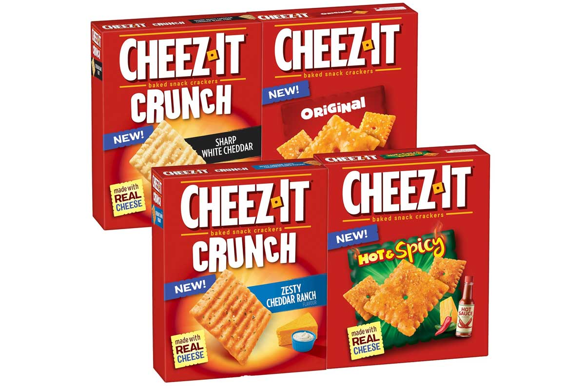 Cheez-It crackers launch in Canada