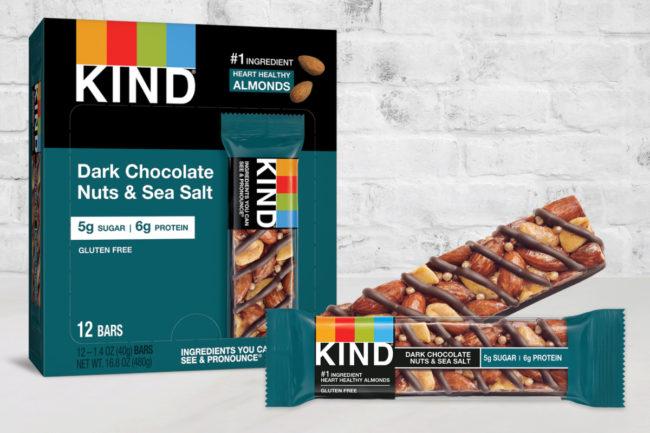 Kind Dark Chocolate Nuts & Sea Salt bars