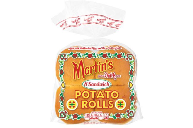 Martin's sandwich potato rolls