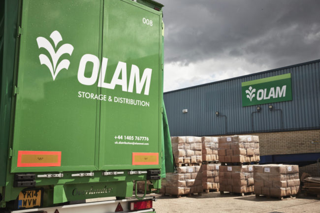 Olam International truck