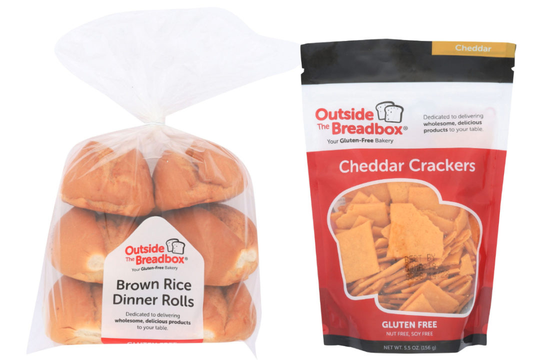 Outside The Breadbox gluten-free products