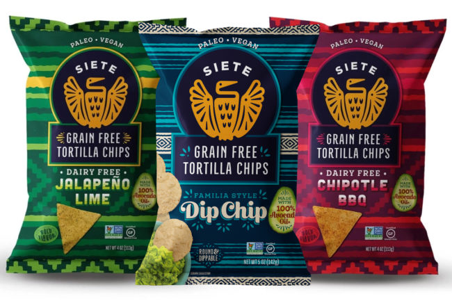 Siete Family Foods grain-free chips